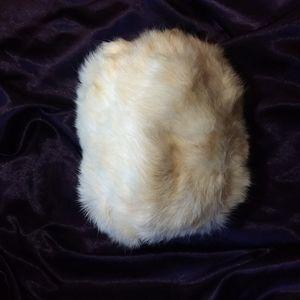 VTG Rabbit Fur Muff